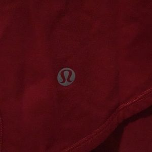 lululemon athletica Tops - Red open back tank top sz 4 57629